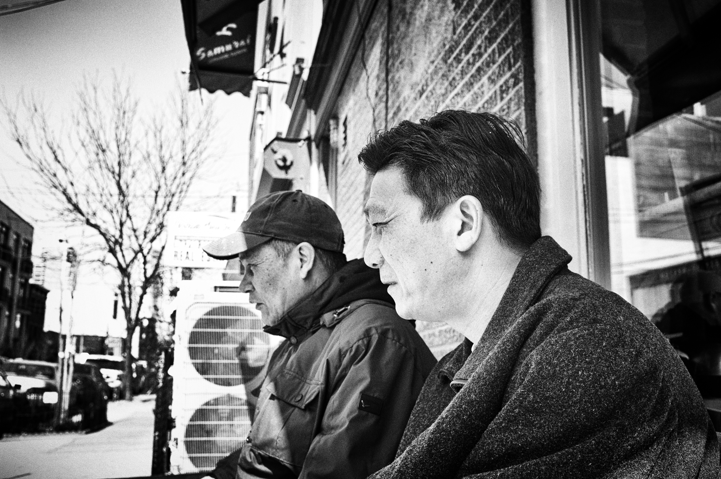 father & son, williamsburg ny
